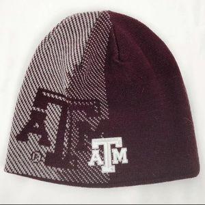 Adidas Reversible Texas A&M University Beanie Hat